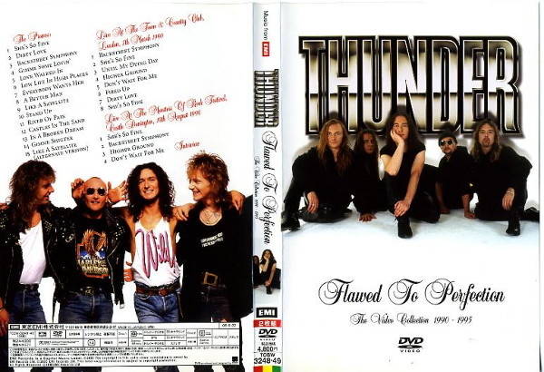 THUNDER Flowed To Perfection The Video Collection 1990-1995(2枚組) サンダー/音楽 中古DVD